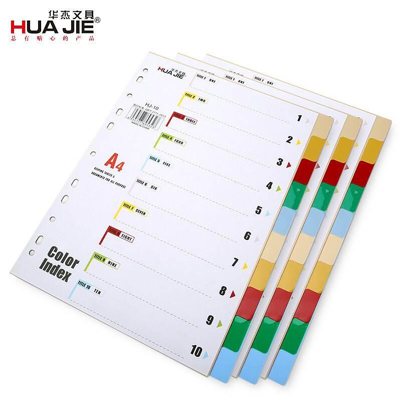 华杰 HJ-10 文件索引分类页 文件索引分页 (单位:包)